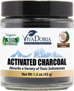 Aztec Indian Healing Clay for Hair - Viva Doria Activated Charcoal Powder