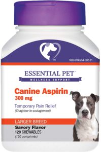 Best Dog Vitamin Supplements - Essential Pet Products Aspirin