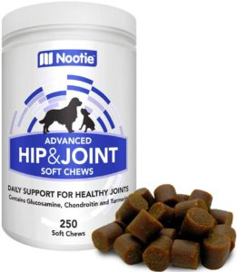 Best Dog Vitamin Supplements - Nootie Hip and Joint Support
