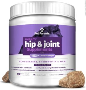 Best Dog Vitamin Supplements - Pet Parents Hip and Joint Support