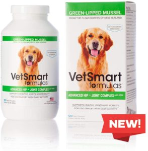 Best Dog Vitamin Supplements - VetSmart Formulas Hip and Joint Support