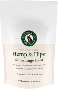 Best Dog Vitamin Supplements - Veterinary Naturals Hip and Joint Support