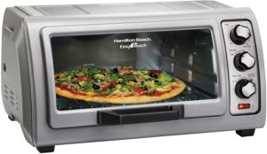 Best Rated Toaster Ovens - Hamilton Beach 31127D Easy Reach Toaster Oven Pro