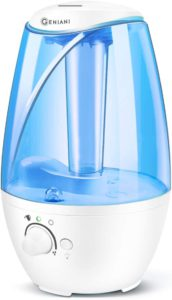 Top Rated Humidifiers for Home - GENIANI 160 Sq. Ft. Humidifier