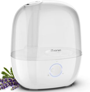 Top Rated Humidifiers for Home - iTvanila White 300 Sq. Ft. Humidifier
