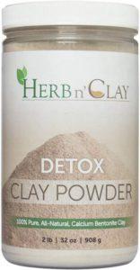 Aztec Healing Clay Benefits - Herb n Clay Calcium Bentonite Clay