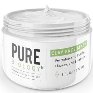 Aztec Indian Healing Clay for Hair - Pure Biology Bentonite Clay r