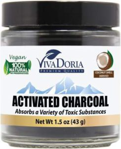 Aztec Indian Healing Clay for Hair - Viva Doria Activated Charcoal Powder r