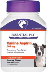 Best Dog Vitamin Supplements - Essential Pet Products Aspirin r