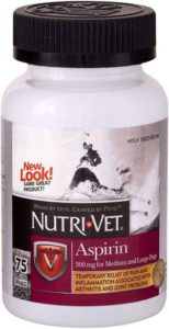 Best Dog Vitamin Supplements - Nutri-Vet Aspirin Chewables r