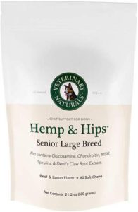 Best Dog Vitamin Supplements - Veterinary Naturals Hip and Joint Support r