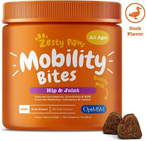 Best Dog Vitamin Supplements - Zesty Paws Hip and Joint Support r