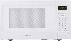 Kenmore 70912 Mid-Size Microwave White r