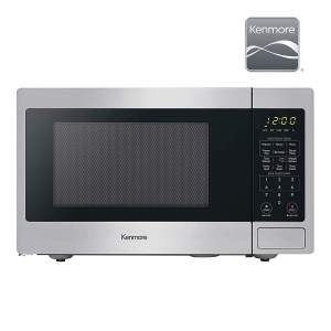 Kenmore 70923 Mid-Size Microwave Stainless Steel r