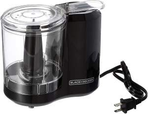 Top Rated Food Processors - Black and Decker HC300B Food Processor