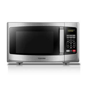 Toshiba EM925A5A-SS Mid-Size Microwave Stainless Steel r
