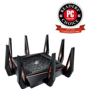 Best Rated WiFi Routers - ASUS ROG Rapture GT-AX1000 WiFi Router