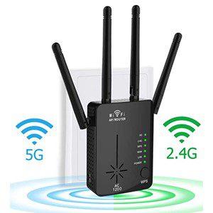JZORI 1200Mbps WiFi Router