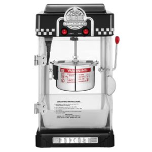 Great Northern 6072 Little Bambino Stovetop Popper Black