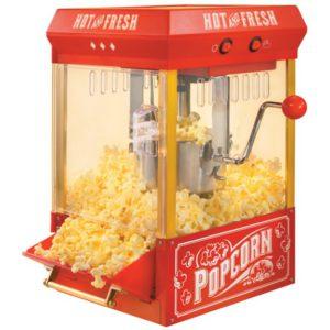 Popped Popcorn In A Popcorn Maker