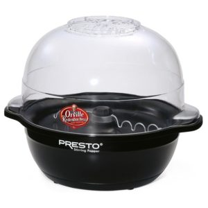 Presto 5204 Electric Popper Black