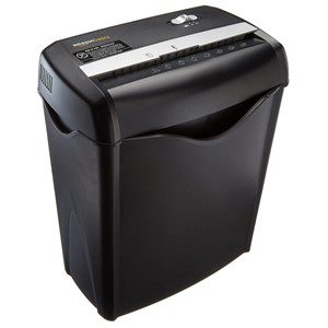 Top Rated Paper Shredders Home - AmazonBasics AS662C Cross-Cut Shredder