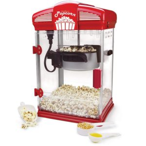 West Bend 82515 Theater Style Popper Red