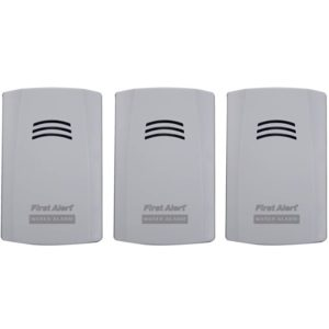 Best Water Leak Sensors - First Alert WA100-3 Water Alarm Detector