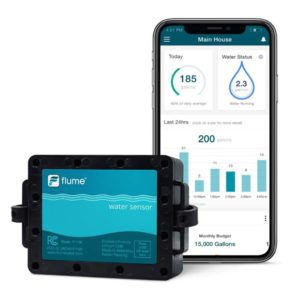 Best Water Leak Sensors - Flume Smart Home Leak Sensor System