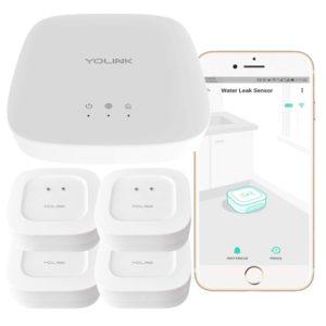 Best Water Leak Sensors - YoLink Smart Leak Sensor System