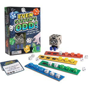 Even Steven's Odd Dice Game