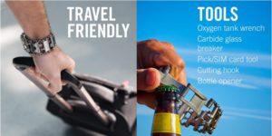 Leatherman Tread Bracelet Travel Friendly Tools
