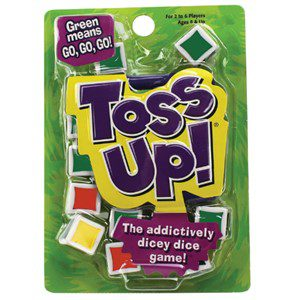 Toss Up Dice Game