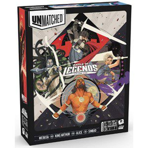 Unmatched Battle of the Legends Board Game