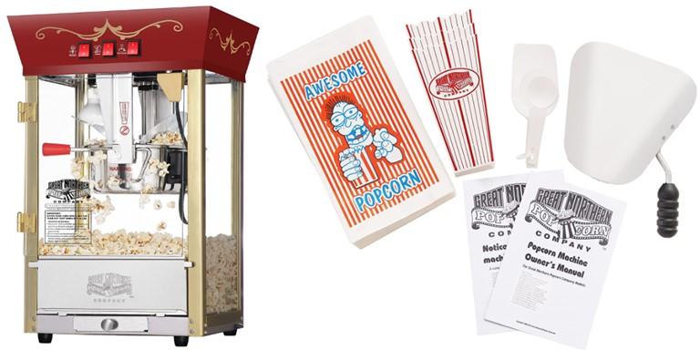 Great Northern Popcorn Machine & Supplies