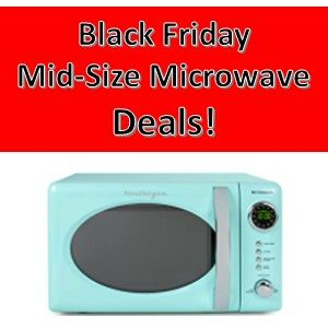 Pros Cons Shopping Black Friday Midsize Microwave Deals