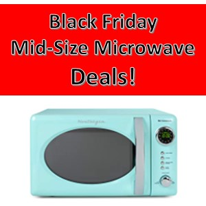Black Friday Midsize Microwave Deals