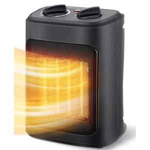 Aikoper Space Heater Black