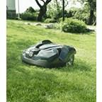 Husqvarna Robotic Lawn Mower 220AC In Action