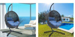 Outdoor Wicker Egg Chair Header