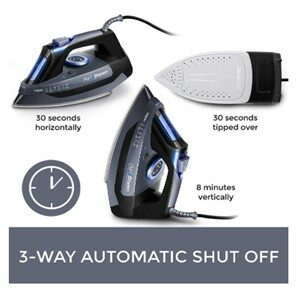 PurSteam PSSI-01 3-Way Auto-Off Feature