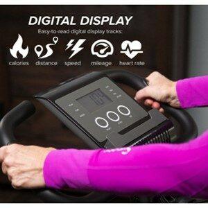 Slim Cycle Exercise Bike Digital Display