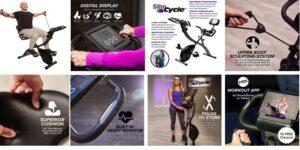 Slim Cycle Exercise Bike Header