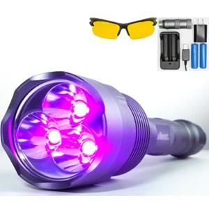 uvBeast New V3 Black Light Flashlight