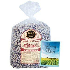 Amish Country Popcorn Blue Kernels