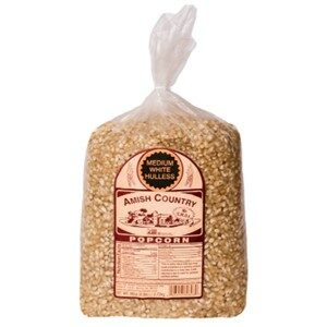 Amish Country Popcorn Hulless Medium White Kernels