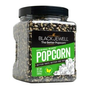 Black Jewel Black Popcorn Kernels