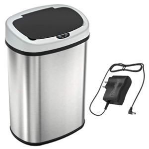 SensorCan 13 Gallon w/Adapter Trash Can