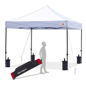 ABCCANOPY Pop Up Canopy wSandbags