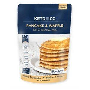 Keto Co Gluten Free Waffle Mix